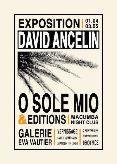 O SOLE MIO Galerie Eva Vautier à Nice